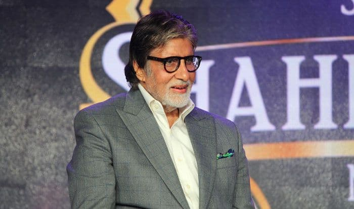 Bollywood actor Amitabh Bachchan. Photo Courtesy: IANS
