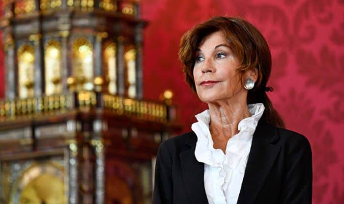 Chancellor of Austria, Brigitte Bierlein. Photo Courtesy: Getty Images