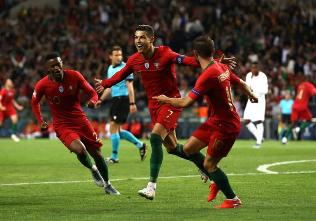 Cristiano Ronaldo, Cristiano Ronaldo scores, Cristiano Ronaldo Portugal Football Team, Harry Kane, Harry Kane Ha-trick for England, Euro 2020, Euro 2020 Qualifiers, Football News