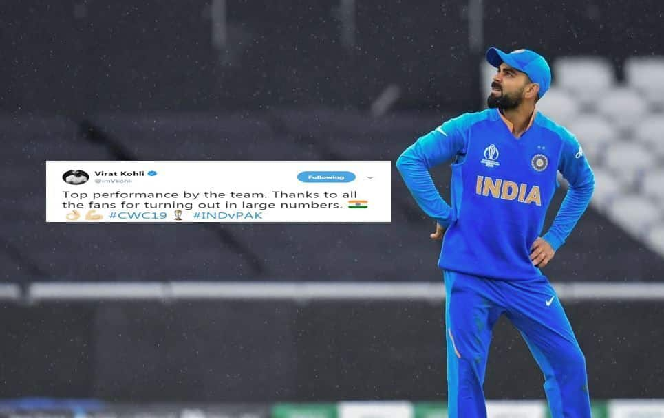 Virat Kohli's Tweet After India's Emphatic Victory Against Pakistan Is Winning Hearts