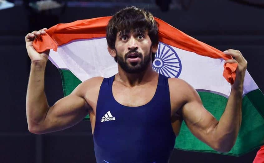 Wrestler Bajrang Punia Says His Focus Is On Winning Medals For India