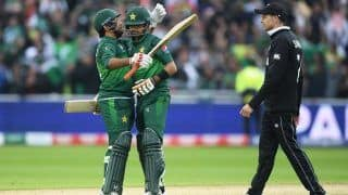 CWC'19 Report: Babar Azam, Shaheen Afridi Star As Pakistan Defeat New Zealand By 6 Wickets