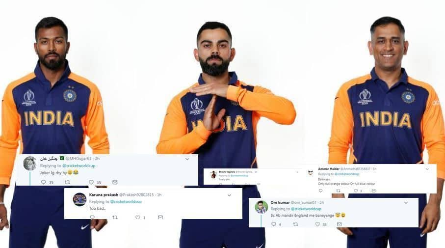India new jersey, India away jersey, India world cup new jersey, India world cup away jersey, India world cup away kit, ICC World Cup 2019, IND way jersey, IND new jersey, IND away kit, India new jersey orange, India new jersey against England, India dress cricket 2019, India new jersey photo, India new jersey orange photo, India new year, India New Zealand, India new jersey orange world cup,
