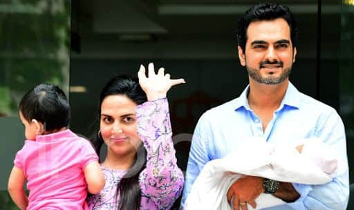 Watch: First Glimpse of Esha Deol's Newborn Daughter Miraya Takhtani