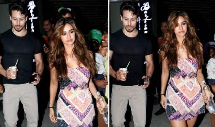 Disha Ptani and Tiger Shroff spotted after dinner date