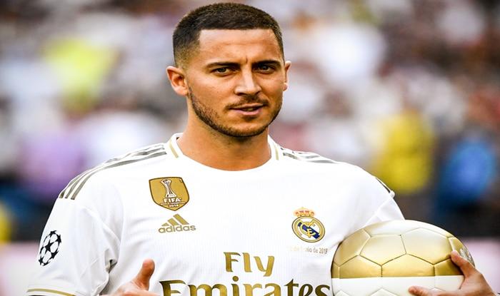 Eden Hazard, Eden Hazard Real Madrid, Real Madrid FC, Santiago Bernabeu Football News, La Liga, Chelsea, Eden Hazard Signs for Real Madrid