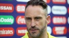 Du Plessis Slams British Airways For 'Worst Flying Experience', Misses Connecting Flight to India