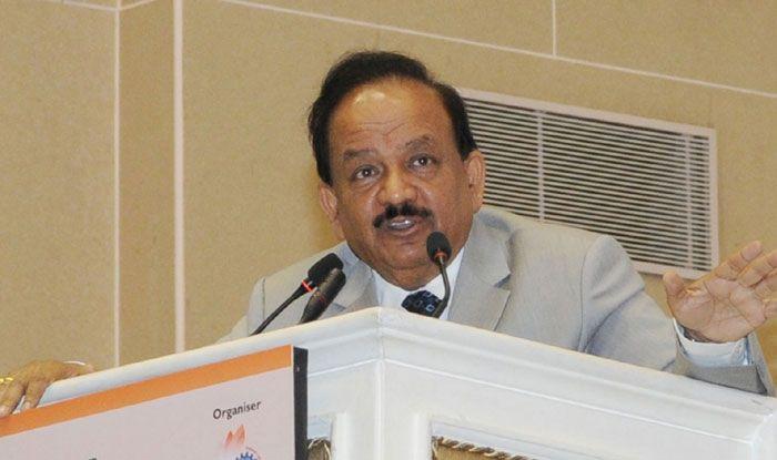 Union Health Minister Harsh Vardhan. Photo Courtesy: IANS