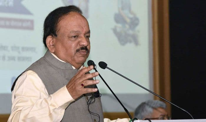 Union Minister for Health, Harsh Vardhan. Photo Courtesy: IANS