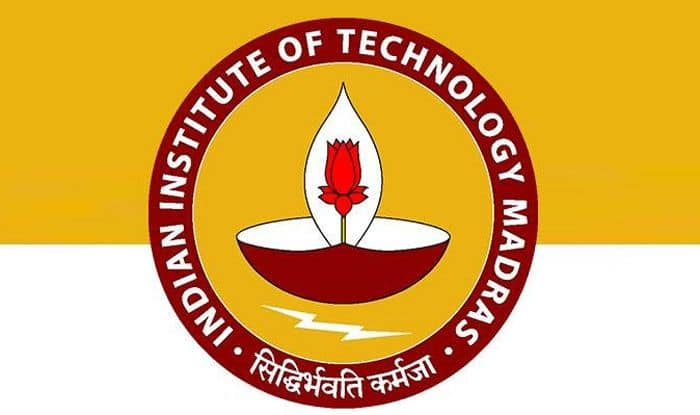 Indian Institute of Technology Madras logo. Photo Courtesy: Twitter/@iitmadras
