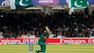ICC Cricket World Cup 2019 Match 36 HIGHLIGHTS: Imad Wasim Stars as Pakistan Edge Afghanistan by 3 Wickets to Keep Semifinals Hopes Alive