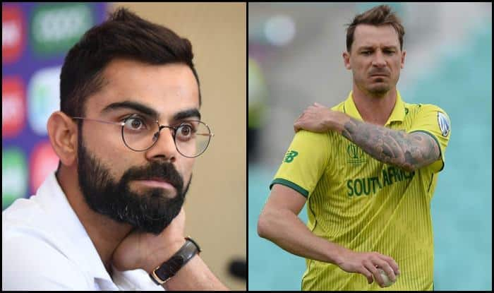India skipper Virat Kohli wished Dale Steyn a speedy recovery_Picure credits-Twitter