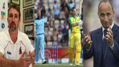 CWC'19: Former Cricketers Nasser Hussain, Jason Gillespie Analyse ENG vs AUS