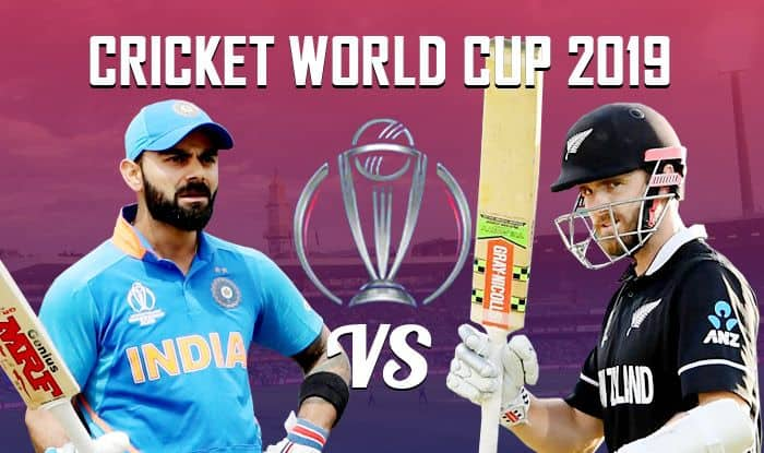 Live Cricket Score IND vs NZ in Cricket World Cup 2019 Match 18, Also Check India vs NZ live match score, live streaming of IND vs NZ, IND vs NZ ball by ball commentary: IND vs NZ Playing XI, time in IST and where to watch IND vs NZ on TV and online in India, Virat Kohli, Kane Williamson, Trent Bridge, Nottingham.
