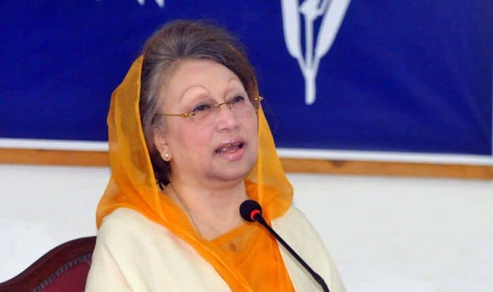 Bangladesh's former PM, Khaleda Zia. Photo Courtesy: IANS