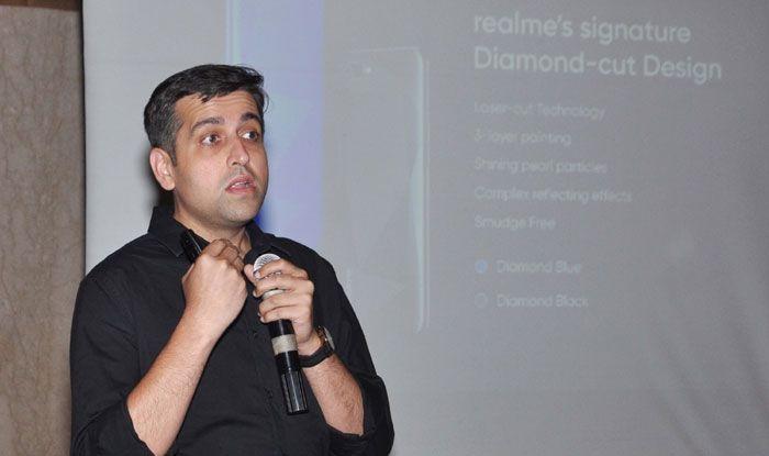 Realme India CEO Madhav Sheth. Photo Courtesy: IANS