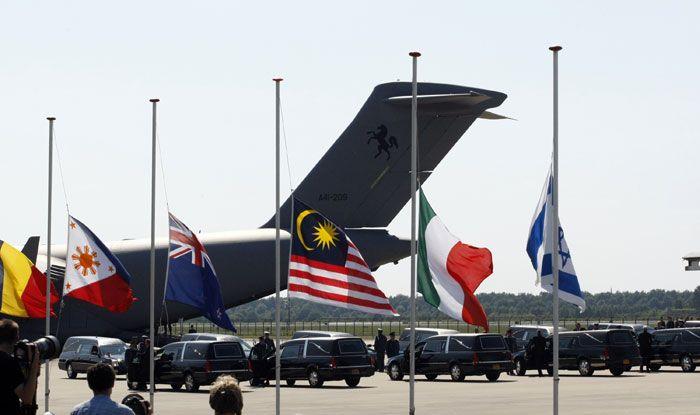 Malaysia Airlines flight MH17, Australia, Ukraine, Russia