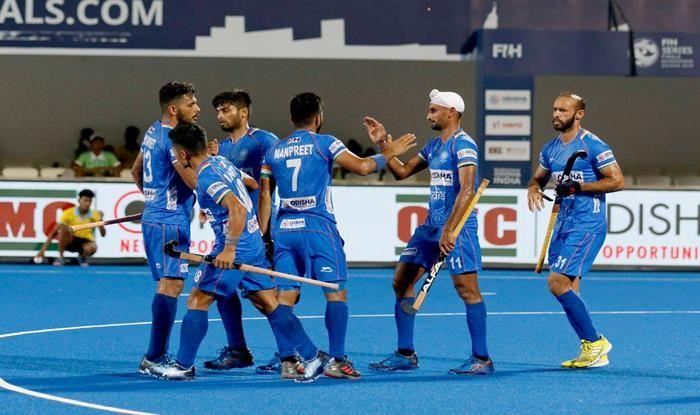 India Men's Hockey Team, Skipper Manpreet Singh, FIH Men's Series Finals, Bhubaneswar, Odisha, Hockey News, FIH Series Finals