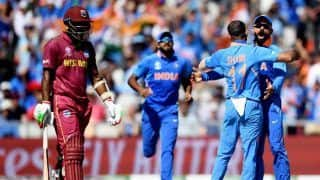 ICC Cricket World Cup 2019 Match 34 HIGHLIGHTS : Kohli, Bowlers Star as India Thump West Indies by 125 Runs in Manchester