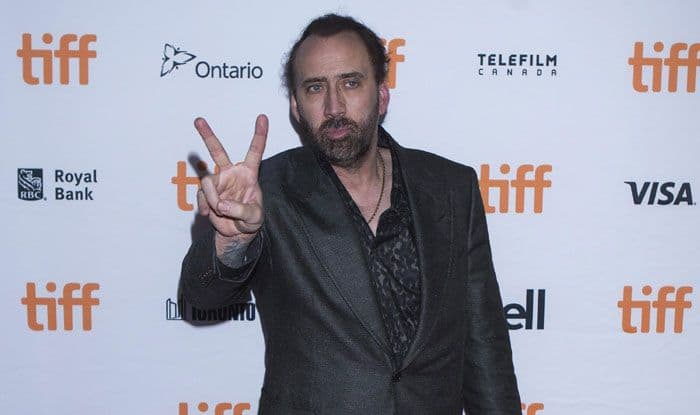 Actor Nicolas Cage. Photo Courtesy: IANS