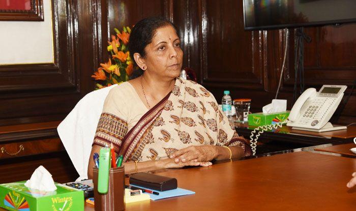 Nirmala Sitharaman. Photo Courtesy: IANS