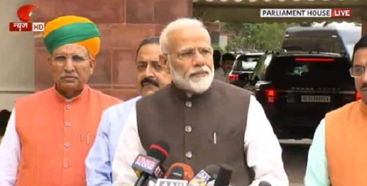 PM Modi, Other MPs Take Oath on Day 1 of First Session of 17th Lok Sabha