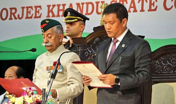 Arunachal Pradesh CM Pema Khandu. Photo Courtesy: IANS