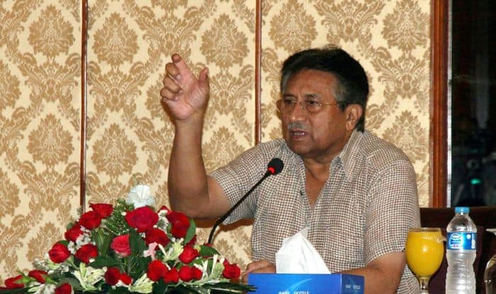 Former president of Pakistan, Pervez Musharraf. Photo Courtesy: IANS