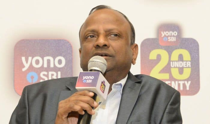 Chairman of SBI, Rajnish Kumar. Photo Courtesy: IANS