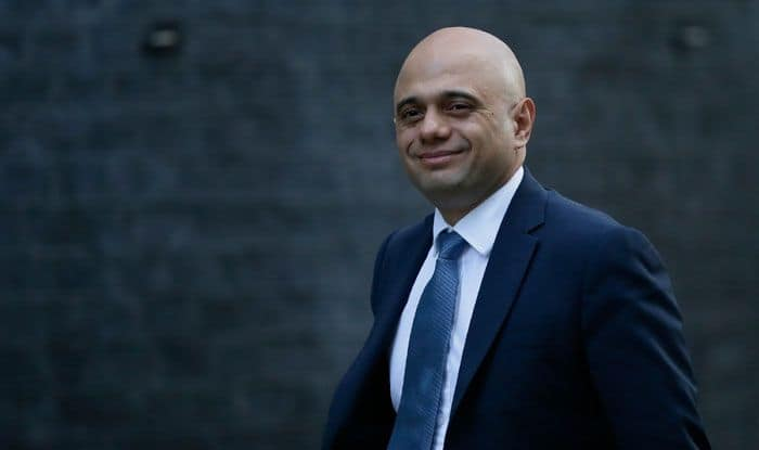 Britain's Home Secretary Sajid Javid. Photo Courtesy: IANS