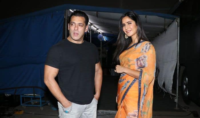 Actors Salman Khan and Katrina Kaif. Photo Courtesy: IANS