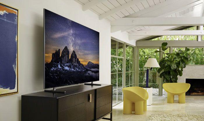 Samsung's QLED 8K TV. Photo Courtesy: IANS