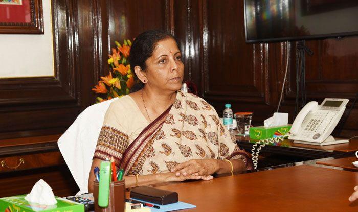 Finance Minister Nirmala Sitharaman. Photo Courtesy: IANS