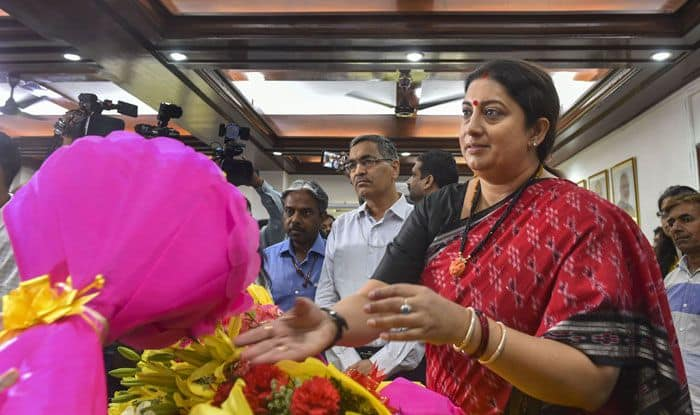 BJP leader Smriti Irani. Photo Courtesy: PTI