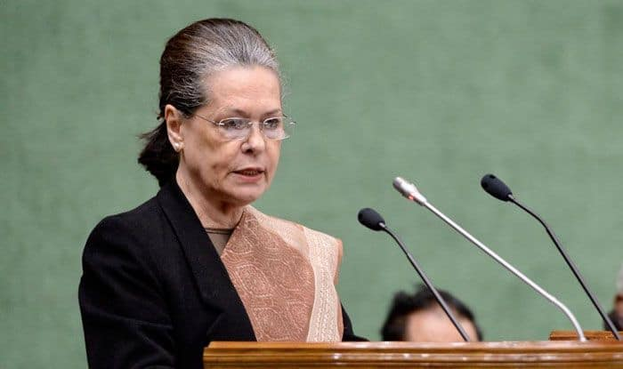 UPA chairperson Sonia Gandhi. Photo Courtesy: IANS