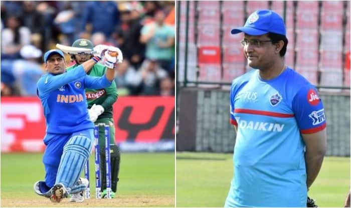 Sourav Ganguly, MS Dhoni, Ganguly backs Dhoni, ICC Cricket World Cup 2019, ICC World Cup 2019, Cricket News, Ganguly-Dhoni World Cup, Team India, Virat Kohli, Ganguly defends Dhoni