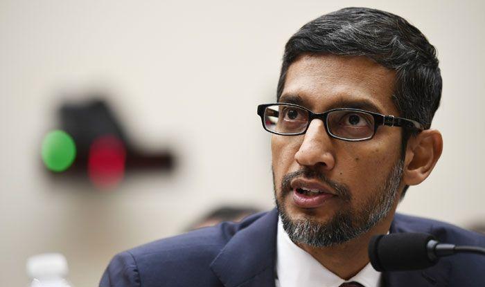 Google CEO Sundar Pichai. Photo Courtesy: IANS