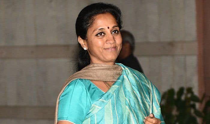 NCP leader Supriya Sule. Photo Courtesy: IANS