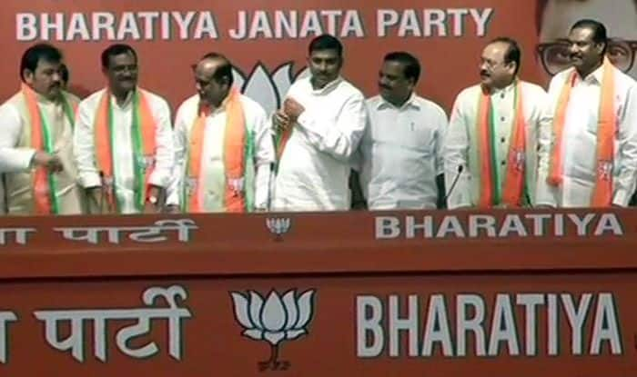 Problems Galore For TDP as Three Leaders Join BJP, Two Congress Leaders Follow Suit