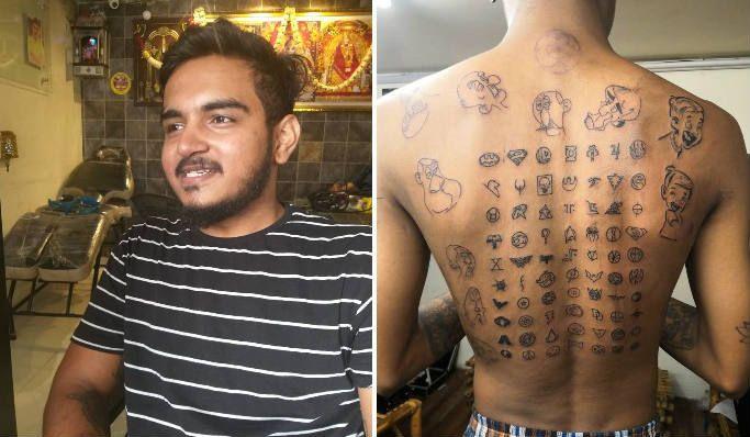 Nagpur Tattoo artist Pradeep Mulani