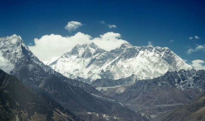 Mount Everest from Thyangboche, Nepal. Photo Courtesy: Getty Images