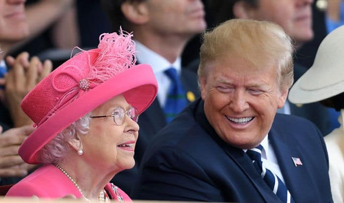 Queen Elizabeth II with US President Donald Trump. Photo Courtesy: Getty Images