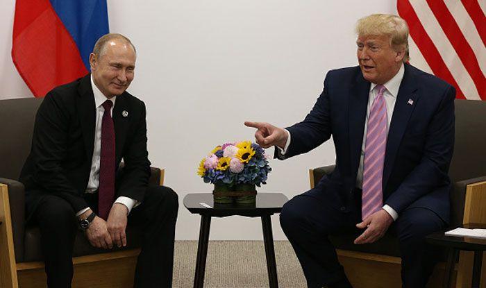 Donald Trump, Vladimir Putin, G20 summit, US 2020 polls, Osaka