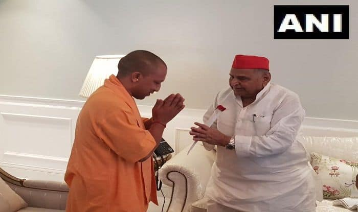 UP CM Yogi Adityanath, Mulayam Singh Yadav