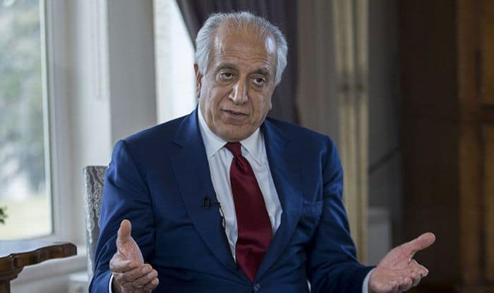 US chief negotiator Zalmay Khalilzad. Photo Courtesy: Getty Images