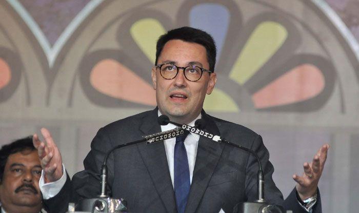 Alexandre Ziegler, France's Ambassador to India. Photo Courtesy: IANS