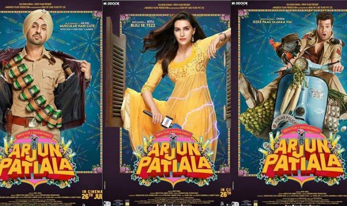 Arjun Patiala: Diljit Dosanjh Looks Super Cute in First Look of Upcoming Movie With Kriti Sanon And Varun Sharma; Rohit Jugraj Directorial to Release on July 26