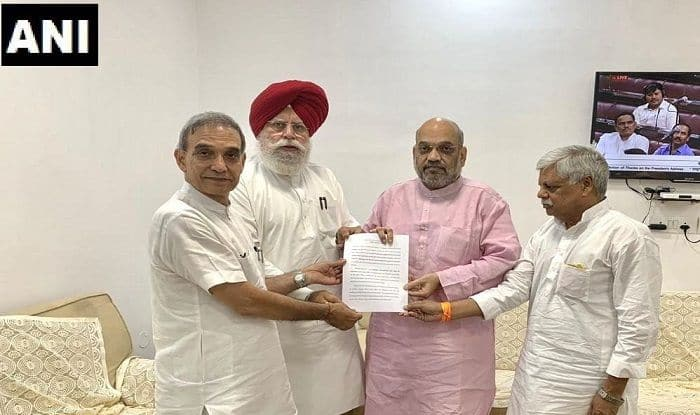 BJP Delegation Submits Report on Bengal Violence to Amit Shah