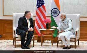 Mike Pompeo India Visit LIVE