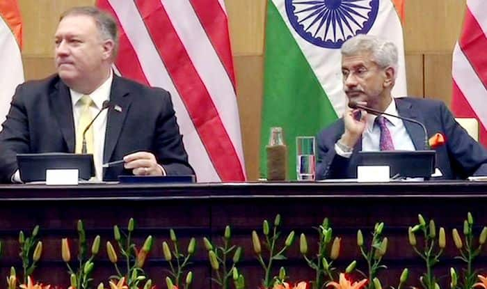 Pompeo Visit: India, US Great Democracies, Global Powers And Good Friends, Says US Secy